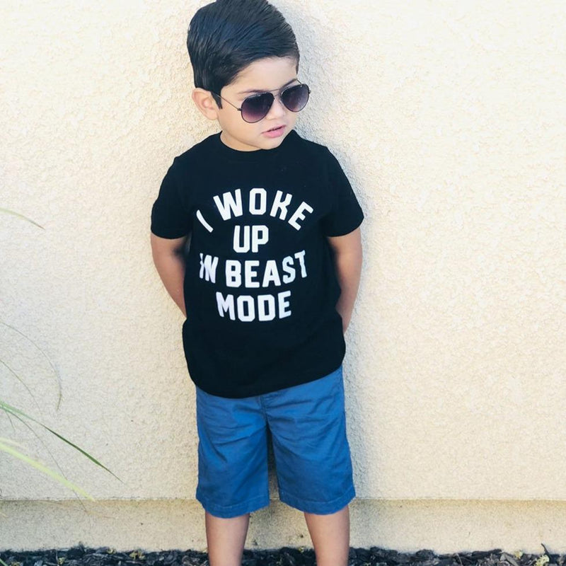 I Woke Up In Beast Mode T Shirt - Baby Truth
