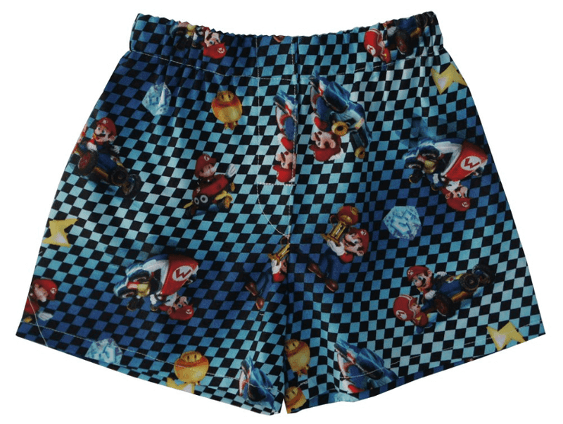 Kids Super Mario Brothers Shorts Or Boxers - Baby Truth
