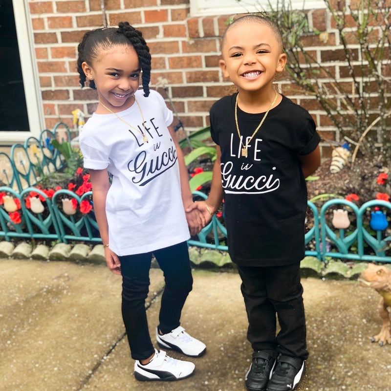 Life is Gucci Toddler Shirt - Baby Truth