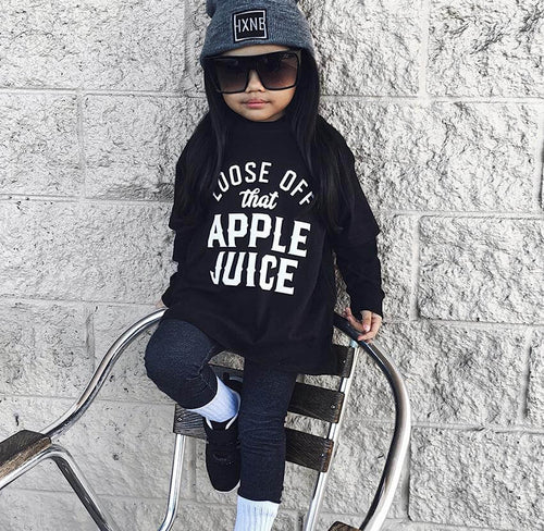 Loose Off That Apple Juice Toddler Tee - Baby Truth