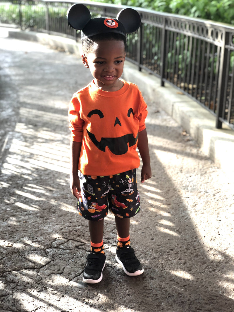 Mickey Trick Or Treat Children Shorts - Baby Truth
