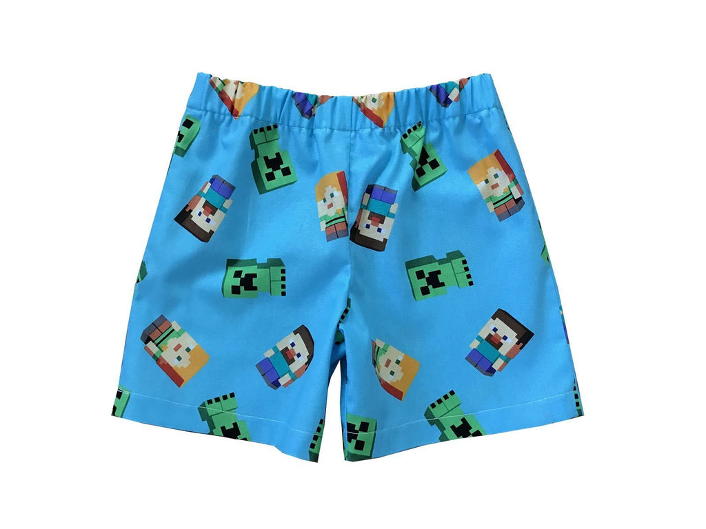 Minecraft Shorts For Toddlers - Baby Truth