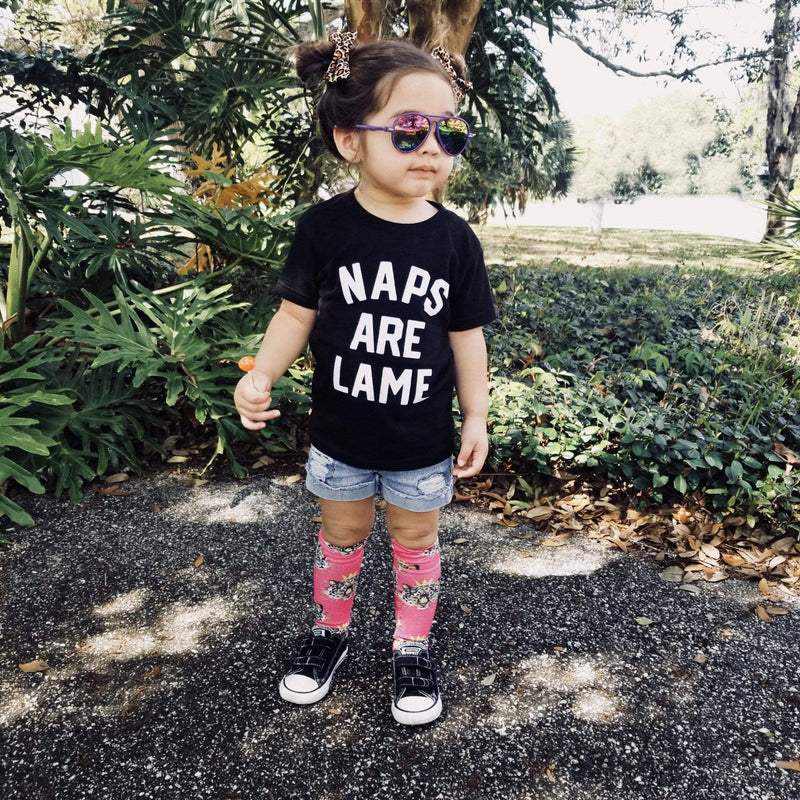 Naps Are Lame Baby T Shirt - Baby Truth