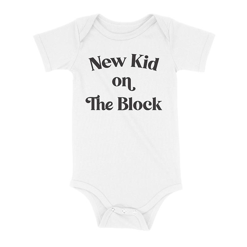 New Kid on the Block Onesie - Baby Truth