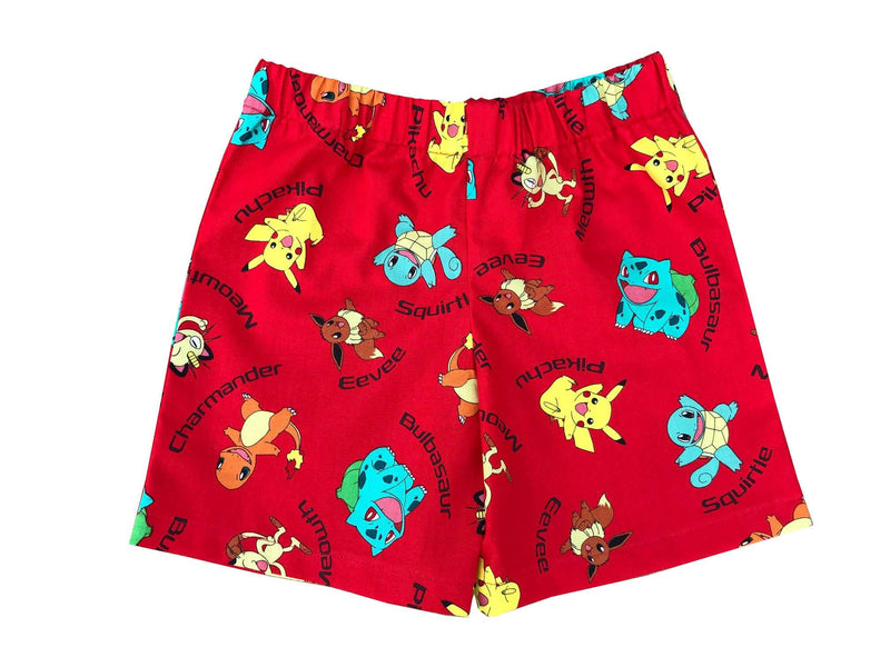Kids Pikachu Shorts - Baby Truth