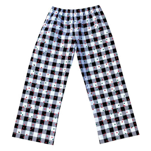 Plaid and Dots Lounging Pants - Baby Truth