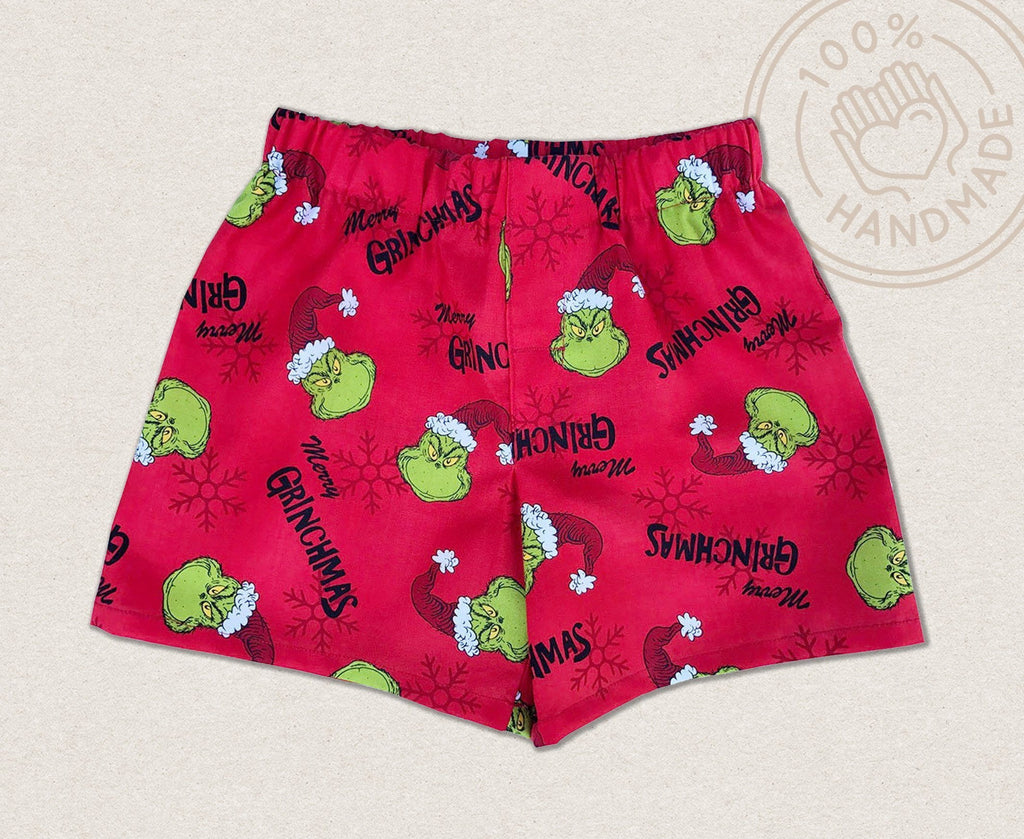 Dr Seuss Christmas Grinch Shorts - Baby Truth