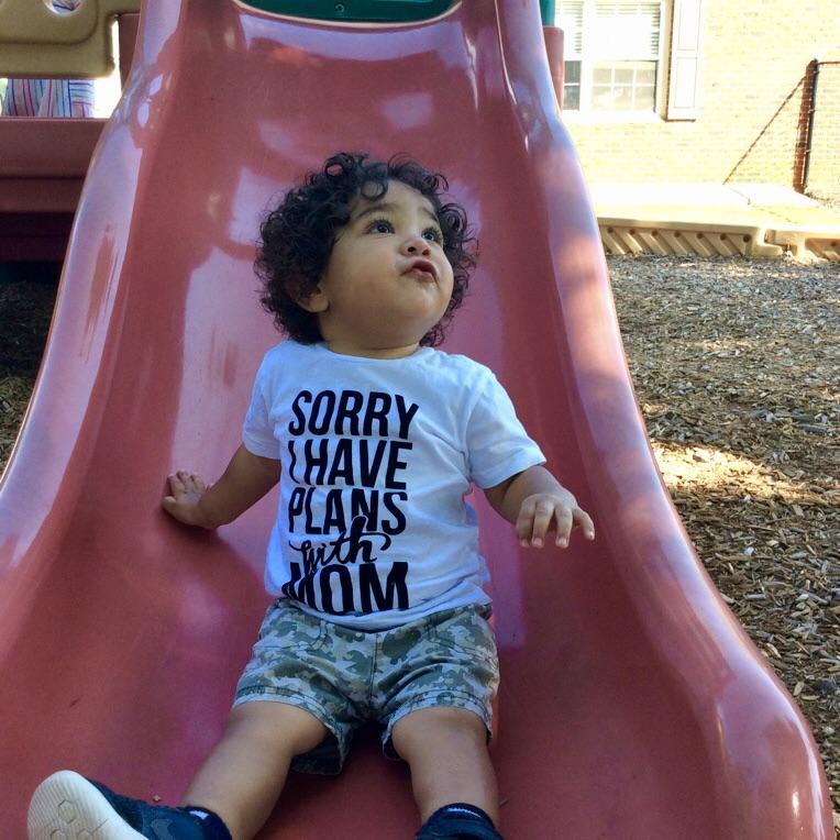 Sorry I Have Plans with Mom Tee | Baby Truth - truth-collection