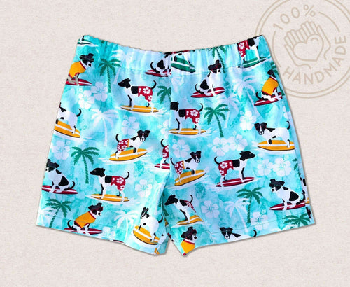 Surfing Dog Toddler Boy Shorts - Baby Truth