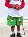 The Grinch Ho Ho Ho Holiday Christmas Boxer Shorts - Baby Truth