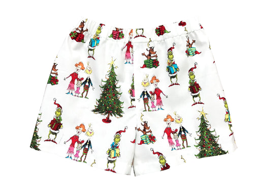 The Grinch That Stole Christmas Boy Boxer Shorts - Baby Truth