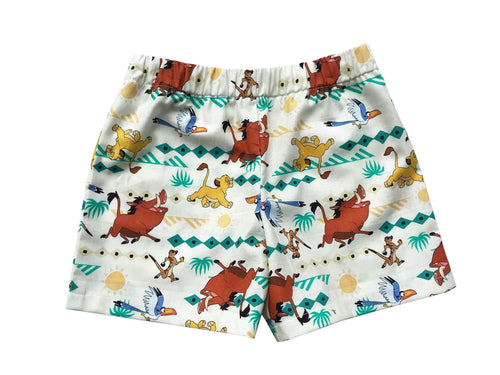 The Lion King Toddler Shorts - Baby Truth