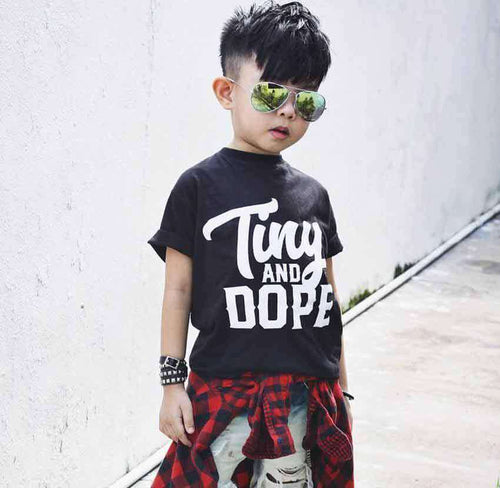 Tiny And Dope Toddler T Shirt - Baby Truth