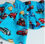 Disney Pixar Cars Blue Toddler Shorts - Baby Truth