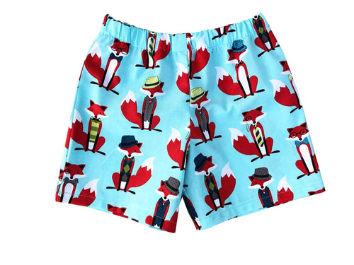 Toddler Fox Shorts - Baby Truth