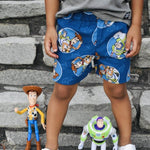 Toy Story Boys Toddler Shorts - Baby Truth