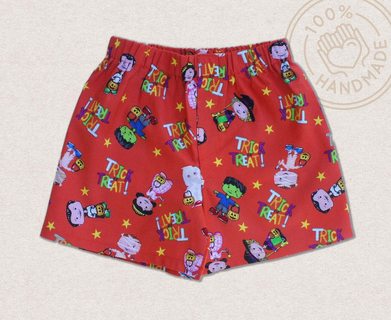 Trick Or Treat Children Shorts - Baby Truth