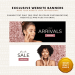 Two Exclusive Website Banners - Baby Truth