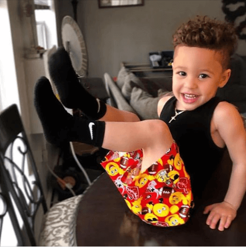 University Of Georgia Emoji Toddler Shorts - Baby Truth