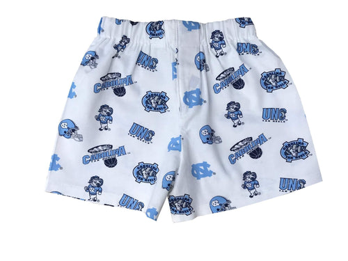 University Of North Carolina Tar Heels Toddler Boy Shorts - Baby Truth