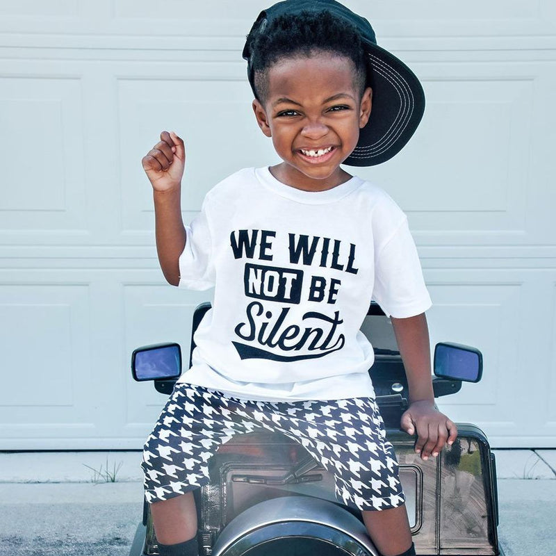 We Will Not Be Silent Toddler Tshirt - Baby Truth