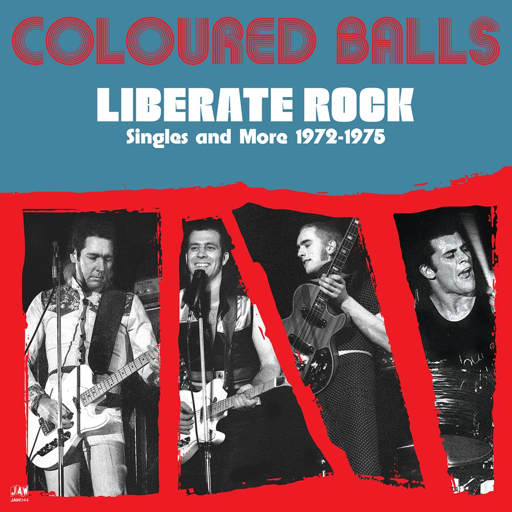 Coloured Balls - Liberate Rock - Singles And More 1972-1975 LP