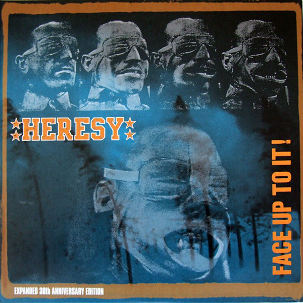 Heresy - Face Up To It 2LP