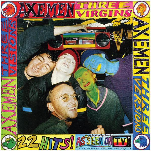 Axemen - Three Virgins, Three Versions, Three Visions 2LP