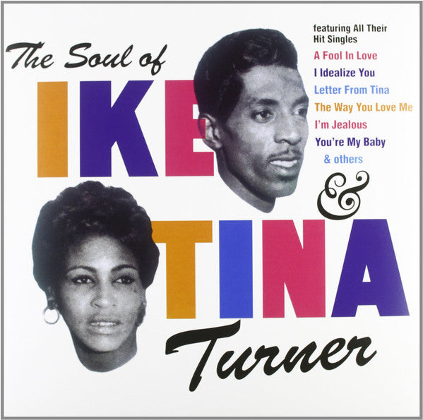 Ike & Tina Turner - The Soul Of Ike & Tina LP