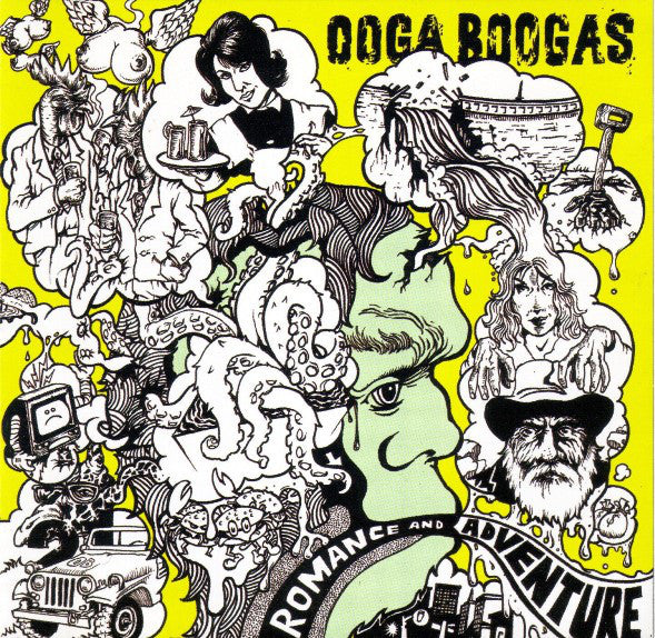 Ooga Boogas - Romance And Adventure CD