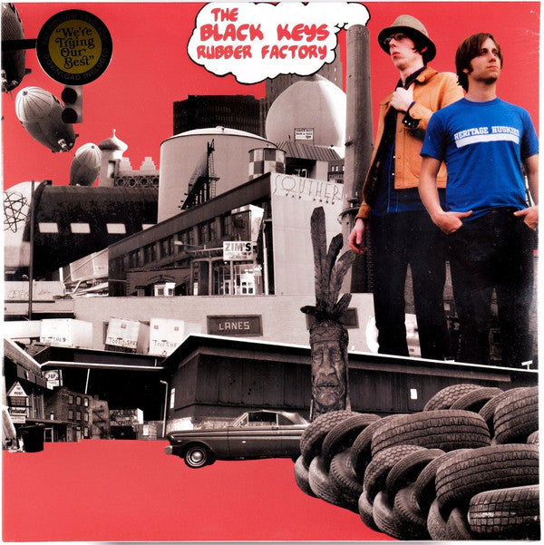 Black Keys - Rubber Factory  LP