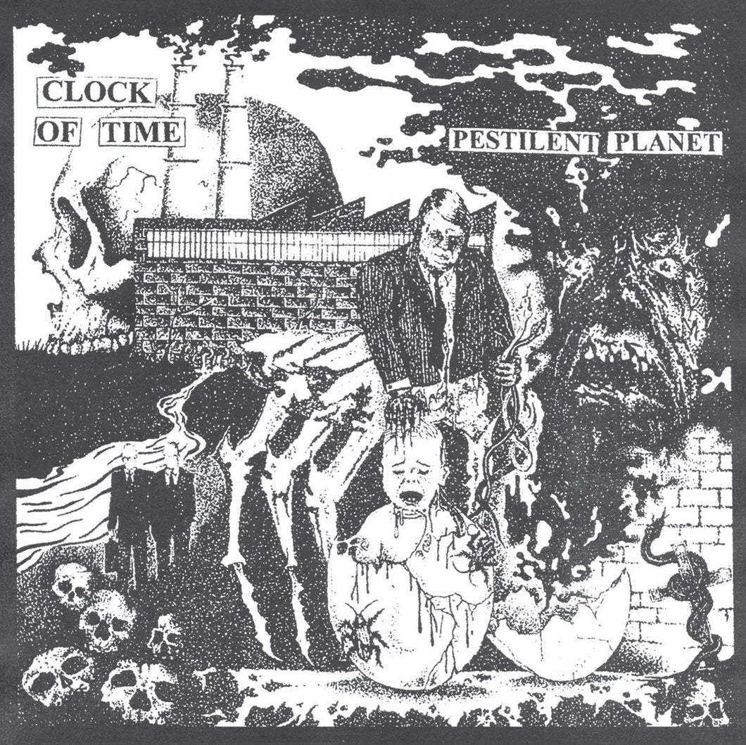 Clock Of Time - Pestilent Planet LP