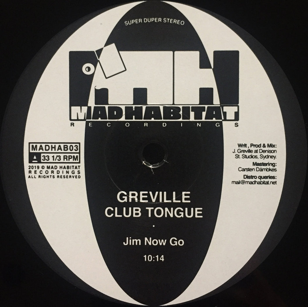 Greville - Club Tongue 12