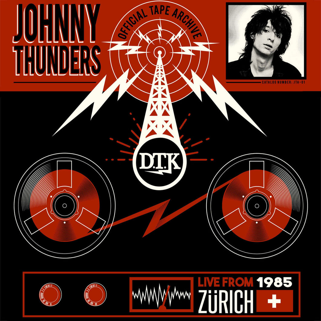 Johnny Thunders - Live From Zurich '85 LP