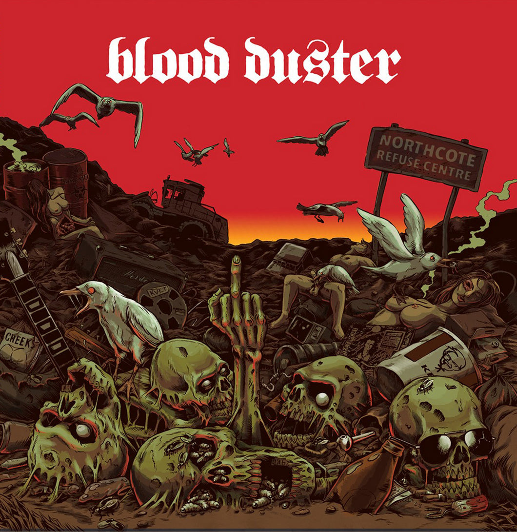 Blood Duster - ...All The Remains LP