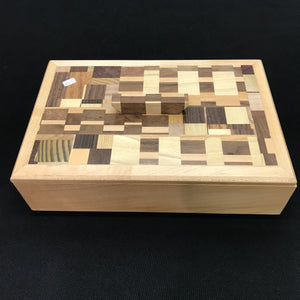 Puzzle Top Box by Craig Harper