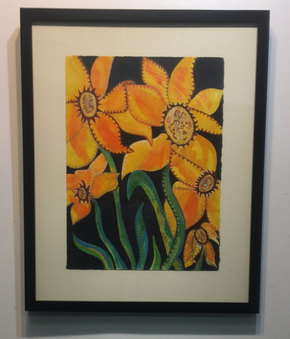 """Sunday Sunflowers"" by KATHLEEN MCCALL"