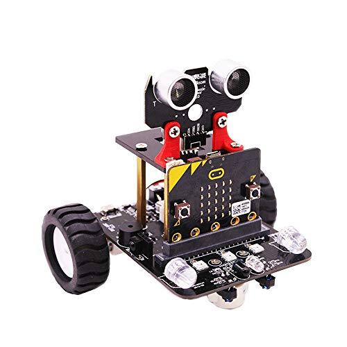 RISHIL WORLD® Yahboom Programable Wheeled Smart Robot Car DIY Kit for Microbit