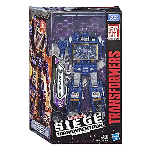 Transformers Figura Soundwave Generations War for Cybertron Voyager
