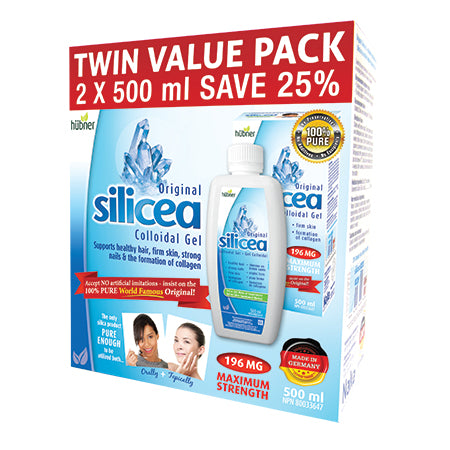 Hubner Silicea Twin Pack - 2x500ml
