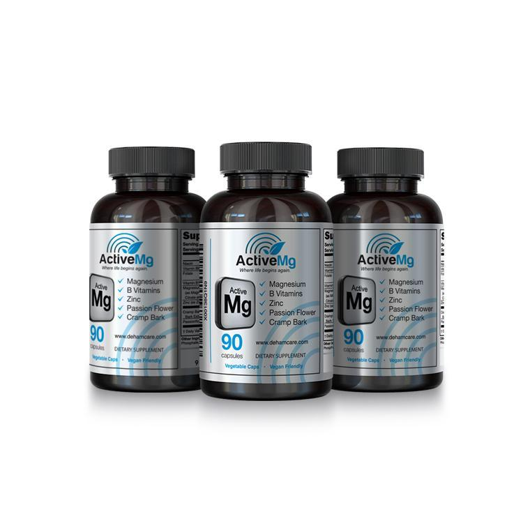 ActiveMg - Activated Magnesium for Migraine, RLS, PMS & More