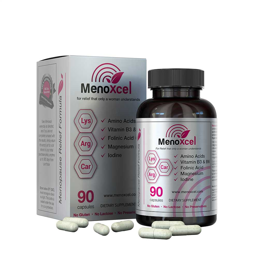 Menopause supplement single bottle