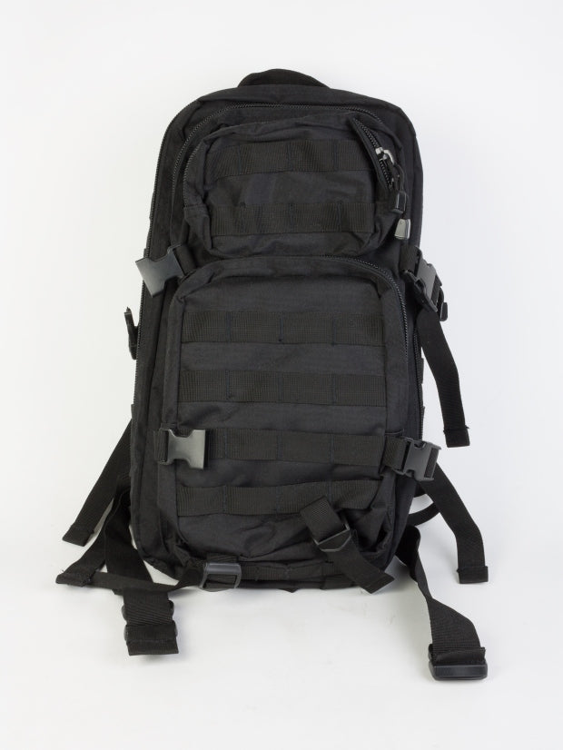 BLACK BACKPACK US ASSAULT SMALL