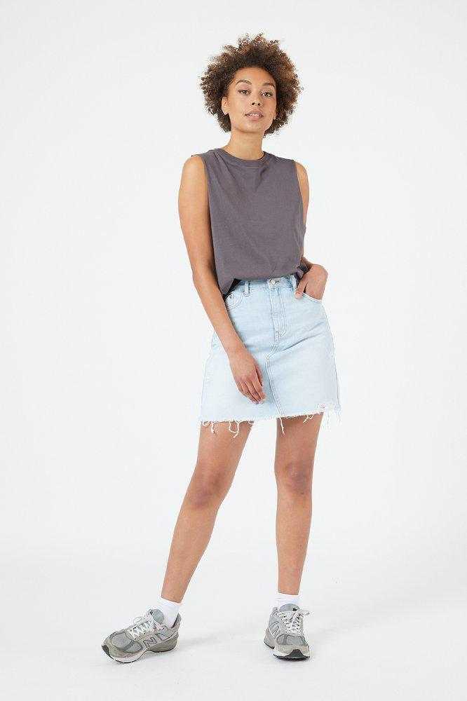 Echo Skirt Superlight Blue Ripped