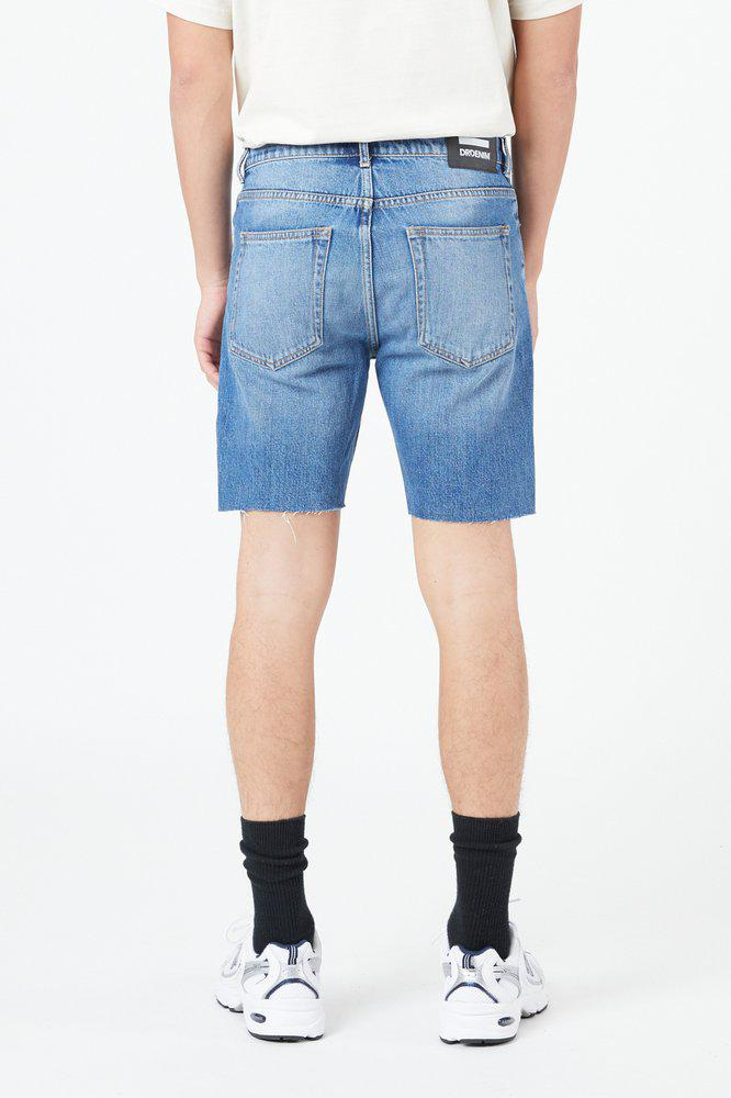 Clark Shorts Creek Mid Blue Ripped