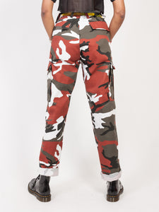 Ranger Pants Red Camo