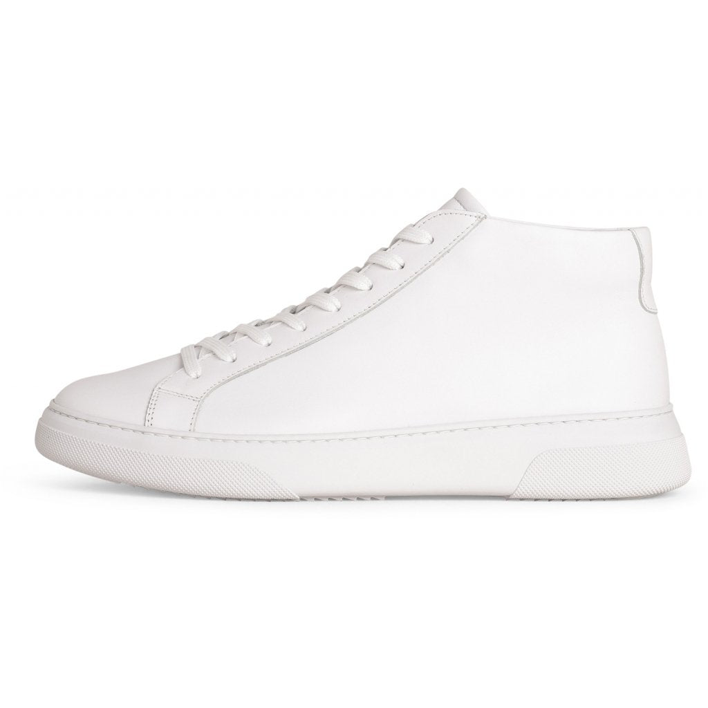 Garment Project Sneaker TYPE MID - WHITE LEATHER