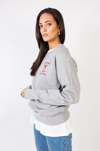 Tatti Sweatshirt Grey/Red