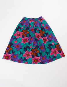 Flowers pattern Skirt