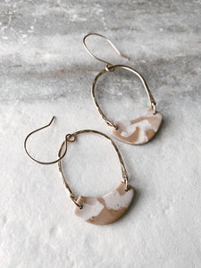 Journey Clay Hoops
